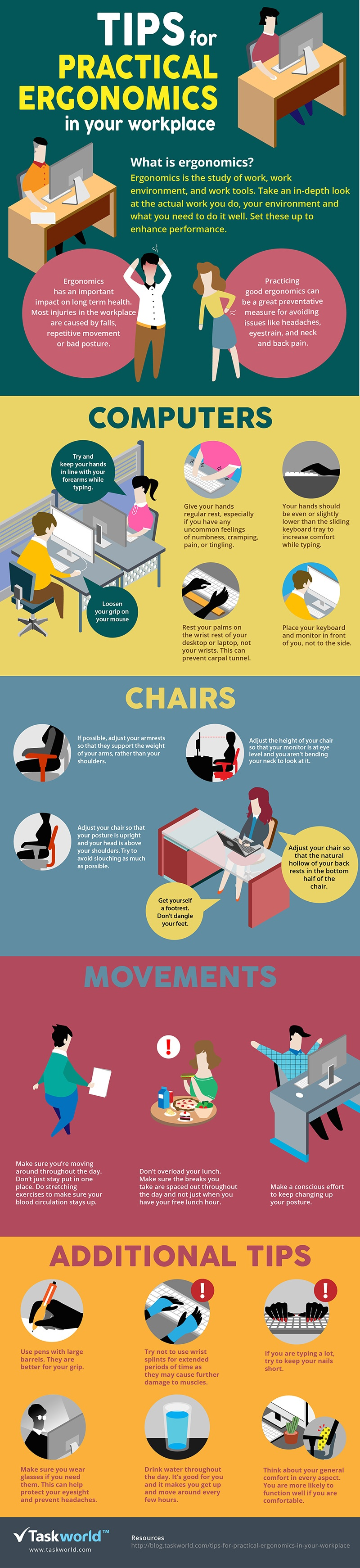 Practical Ergonomic Tips For Your Workspace Cma