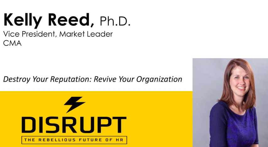 Destroy Your Reputation Revive Your Organization Cma
