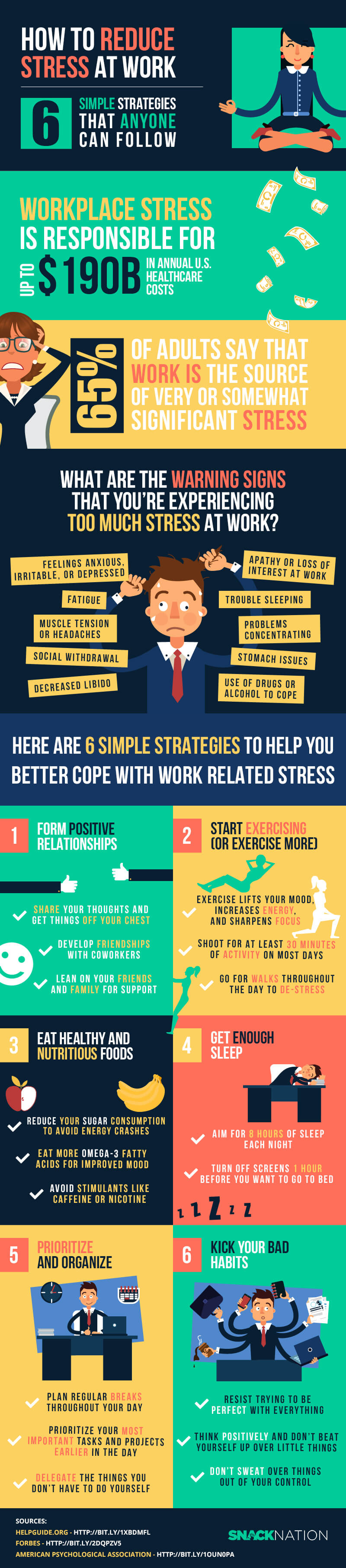 How To Reduce Stress At Work Cma